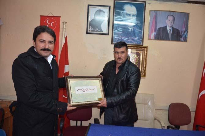 Başkan Kalın'dan MHP'ye ziyaret