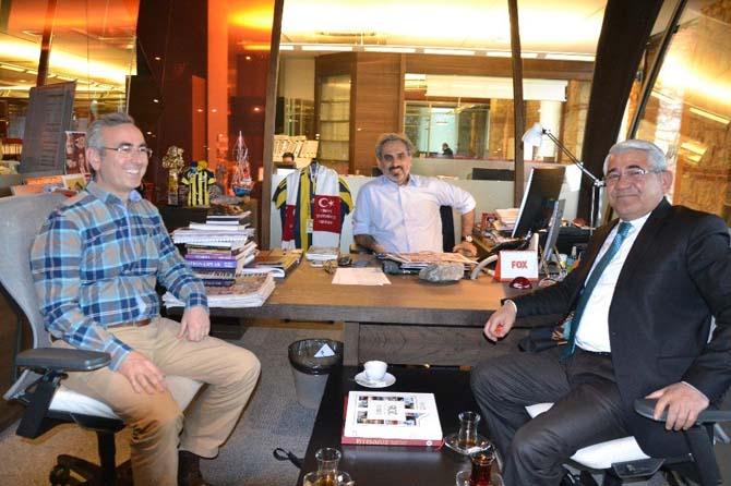 Başkan Karaçanta'dan FOX TV'ye Ödül