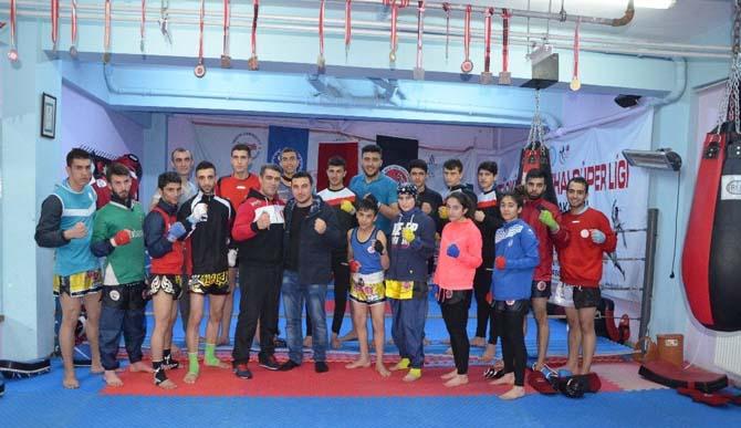 Tatvanlı sporcular Türkiye şampiyonasına hazır