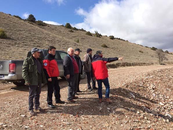 Eskişehir Bal Üretici Birliği 'Arıköy Projesini' inceledi