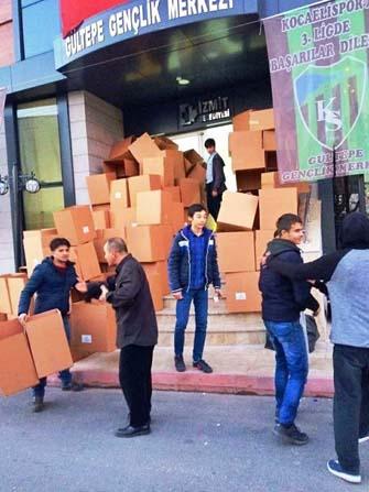 Gençlik Merkezi'nden Halep için yardım kampanyası