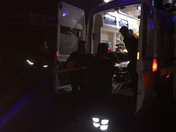 Sobaya dökülen benzin patlamaya neden oldu: 3 yaralı