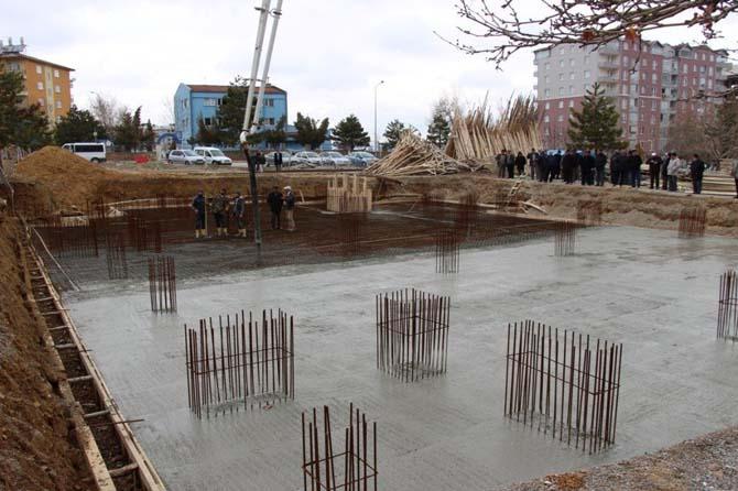 Seydişehir Adil Camisinin temeli atıldı