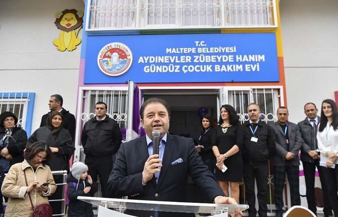 Maltepe Belediyesi altıncı kreşini hizmete açtı