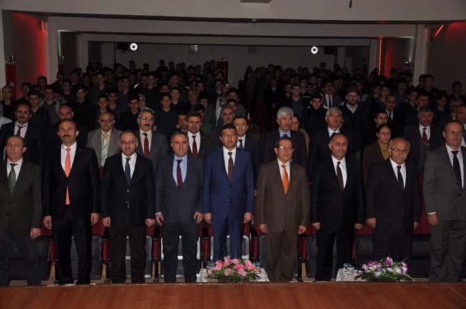 İstiklal Marşı'nın kabulünün 96. yılı Yozgat'ta kutlandı