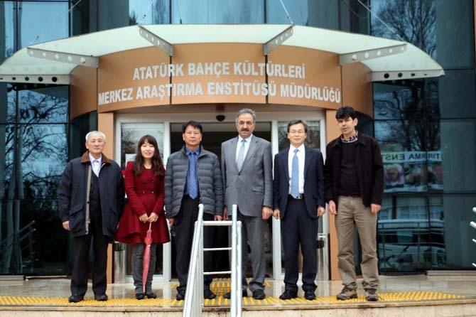 """Kore ve Türkiye'den """"mantar"""" iş birliği"""