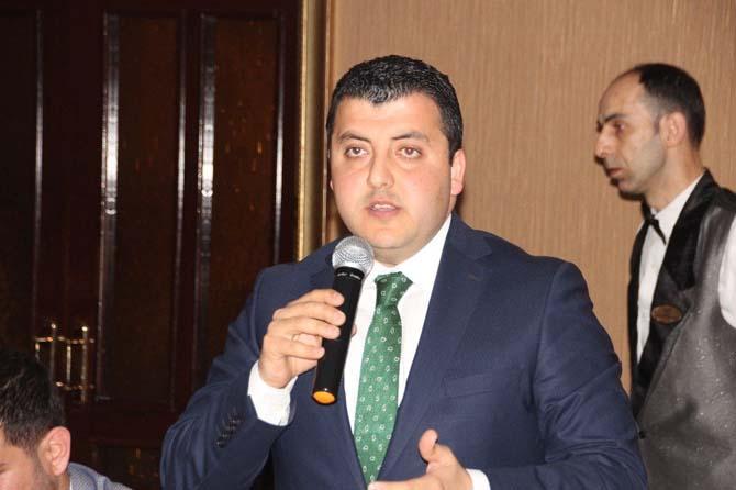 AK Parti Hatay İl Başkanı Atıç, gazetecilerle bir araya geldi
