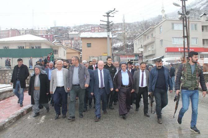 AK Parti Şırnak Teşkilatı referandum çalışmalarını sürdürüyor