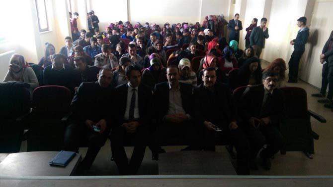 """Erzurum'da """"15 Temmuz Şahitleri Konuşuyor"""" programı"""