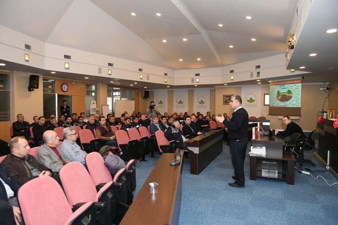 Belediye personeline trafik dersi