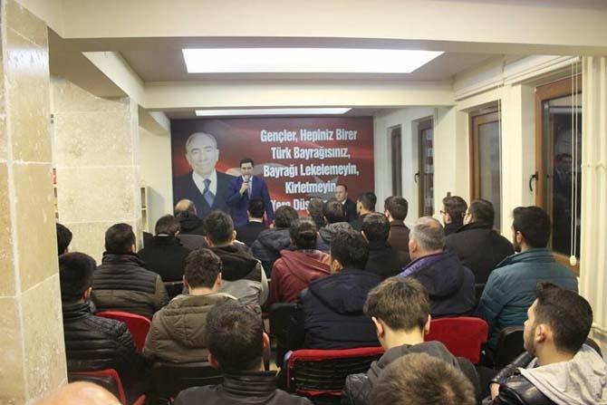 MHP MYK Üyesi Savaş Çolak 'Anayasa Değişikliği' konulu seminer verdi