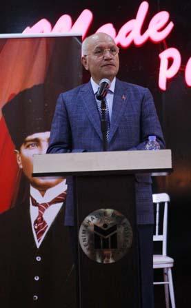 Yenimahalle Belediye Başkanı Yaşar, Kent Koop'taki site yöneticileri ile buluştu