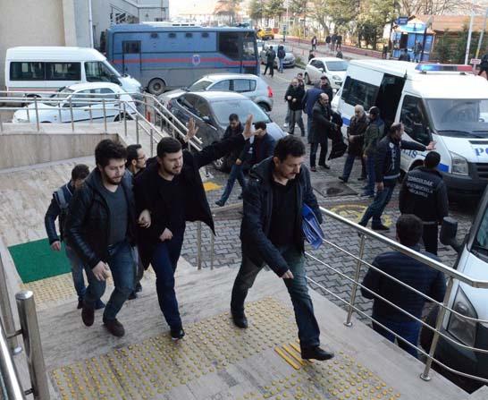 Zonguldak'ta FETÖ operasyonu; 9 gözaltı