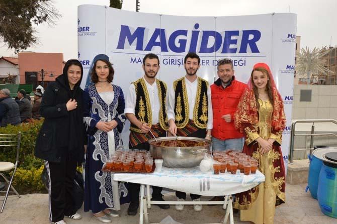 MAGİDER'den şehitler için hoşaf ikramı