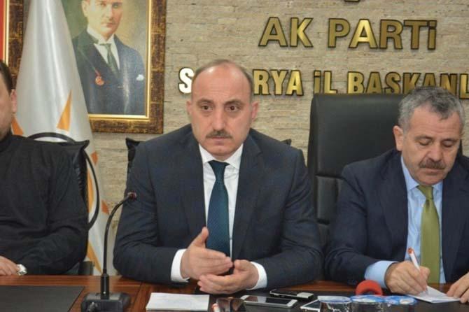 """Başkan Fevzi Kılıç: """"Sakarya'nın alacağı oy en az yüzde 75 olacaktır"""""""