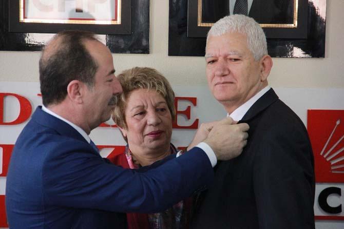 CHP Edirne İl Başkanlığında üye töreni