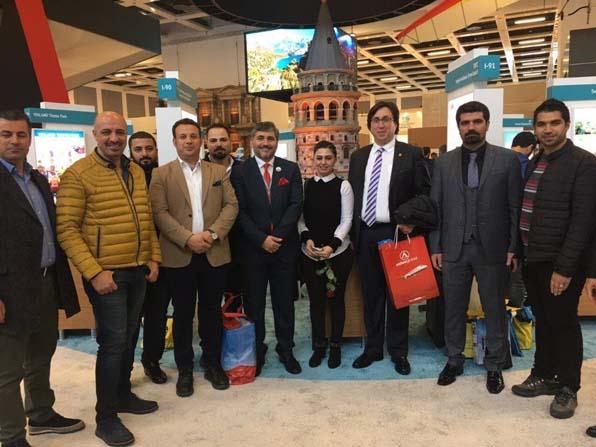 Diyarbakır'dan ITB Berlin Turizm Fuarı'na iş gezisi