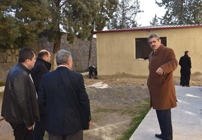 Nazilli Belediyesi, Anadolu Lisesine yemekhane binası yapıyor