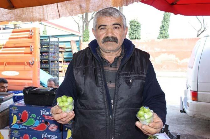 Edirne'de tezgaha düşen eriğin 75 gramı 30 lira