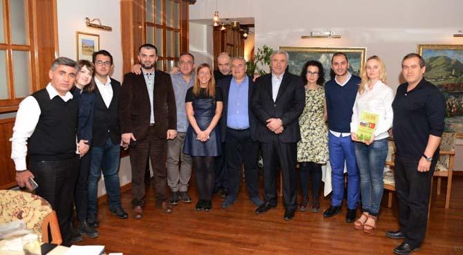 ATSO Yönetimi, Türk - Rus İş Konseyi ve Rus gazetecilerin konuğu oldu