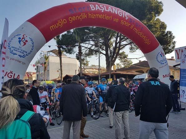 Ortaca'da Türkiye Şampiyonası 2.Etap Puanlı Yol Yarışları başladı