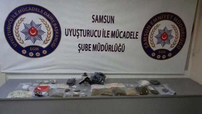 Uyuşturucu maddelerle yakalandı