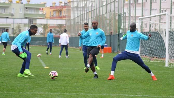 Alanyaspor, Bursaspor maçı hazırlıklarını sürdürdü