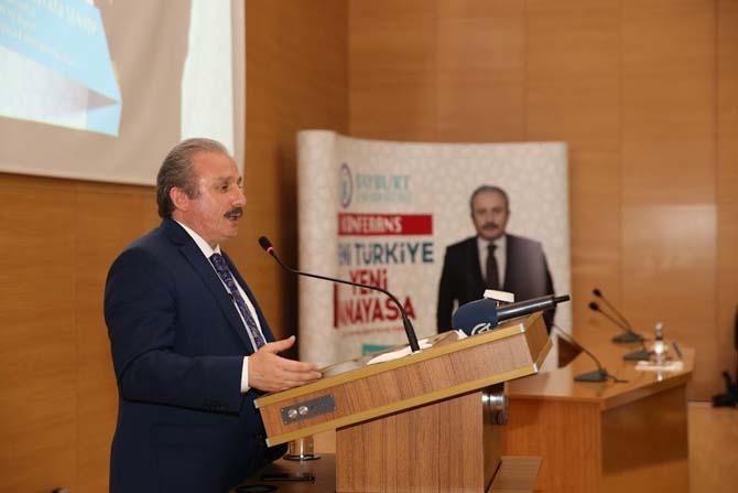 TBMM Anayasa Komisyonu Başkanı Prof. Dr. Mustafa Şentop: