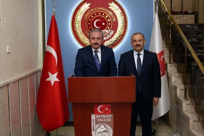 Anayasa Komisyonu Başkanı Şentop'tan, Vali Ustaoğlu'na ziyaret