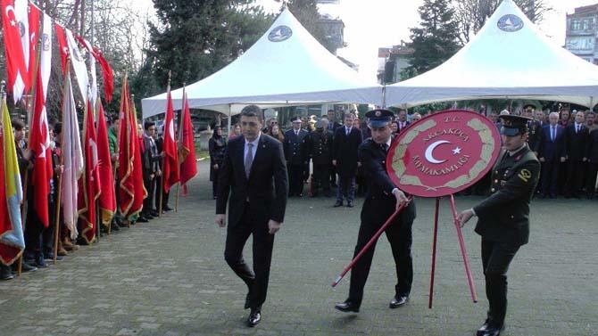 18 Mart Çanakkale Zaferinin 102. Yıldönümü Akçakoca'da anıldı