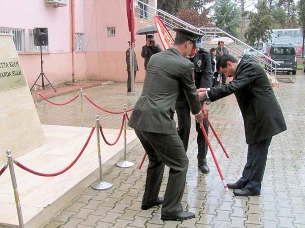 Araban'da 18 Mart Şehitlerini Anma Programını Şiddetli Sağanak Yağış Bile Engelleyemedi
