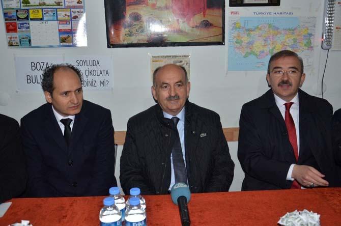 """Bakan Müezzinoğu: """"15 Temmuz'da gördük ki bu millet Çanakkale ruhunu yaşatmaya hazır"""""""