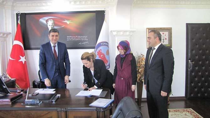 Kardeş okul projesi imzalandı