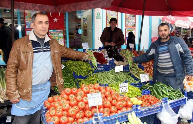 Samsun'da sebze ve meyve ateş pahası