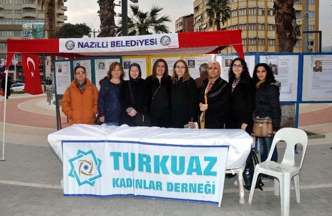 Nazilli'de kadınlar öğretmen okullarının kuruluşunu unutmadı