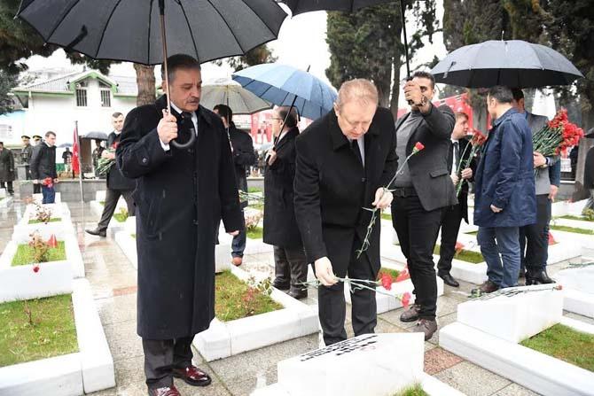 Doğu Karadeniz'de Çanakkale Zaferi ve Şehitleri Anma Günü etkinlikleri