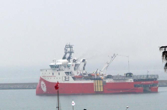 Barbaros Hayrettin Paşa Karadeniz'de petrol arıyor