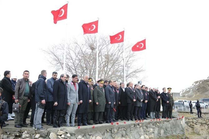 Van'da 'Şehitleri Anma ve Çanakkale Zaferi' programı