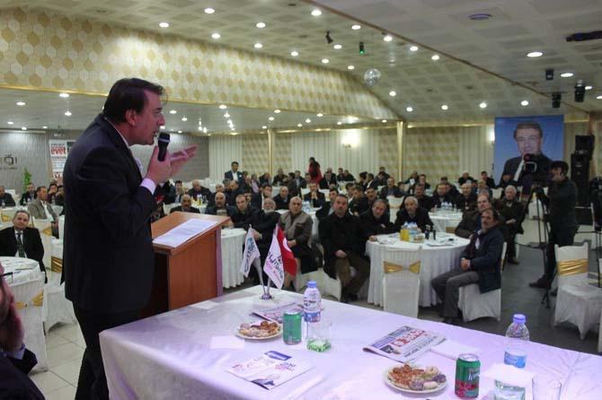 Milletvekili Aydemir DABKON'da anayasa değişikliğini anlattı