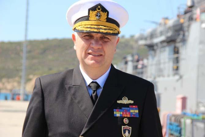 Foça Deniz Üs Komutanlığına ziyaretçi akını
