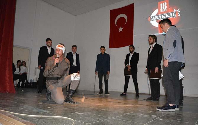 Dalaman Ülkü Ocağından 18 Mart Çanakkale Zaferi anma gecesi
