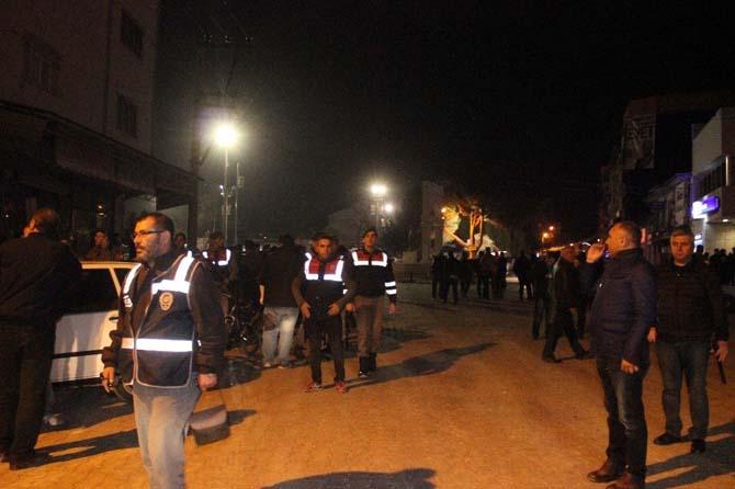 Denizli'de Suriyeliler ile ilçe halkı kavga etti: 1 yaralı