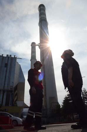 Termik santralin güvenliği ona emanet