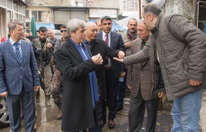 Belediye Başkan Vekili Çınar'dan esnaf ziyareti