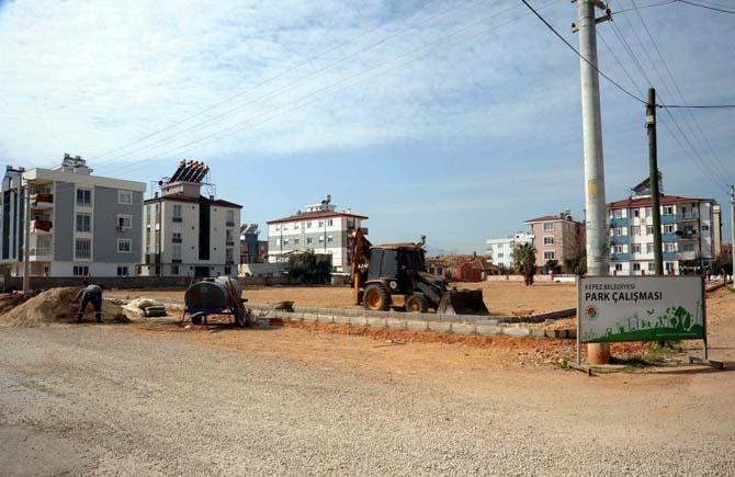 Kepez'e yeni park