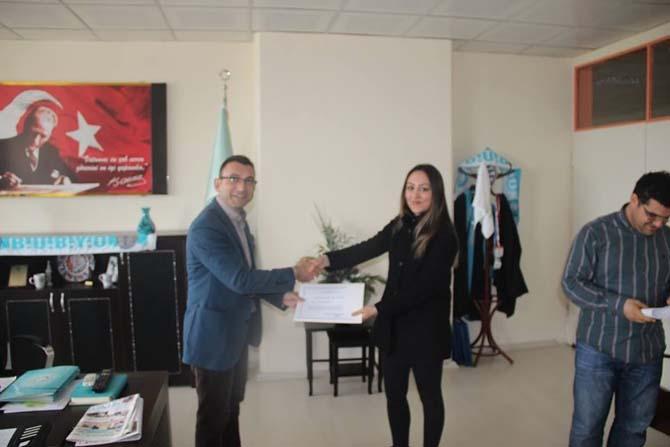BUBYO'da ödül töreni
