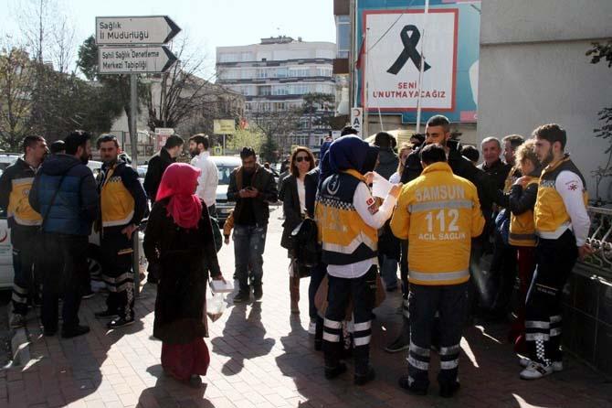 112 çalışanlarından saldırı tepkisi