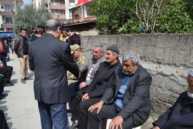 Osmaniyeli şehit baba ocağında