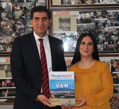 'Memleketim Van' dergisi basına tanıtıldı