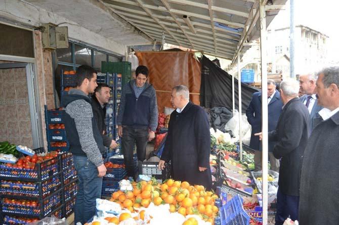 Milletvekili Boynukara, Çelikhan ilçesini ziyaret etti
